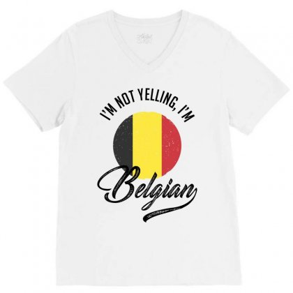 Belgian V-neck Tee Designed By Ale Ceconello