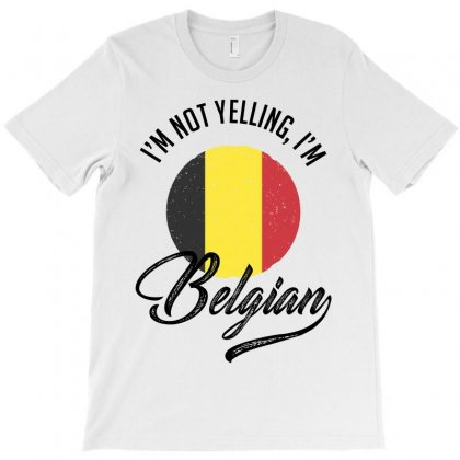 Belgian T-shirt Designed By Ale Ceconello