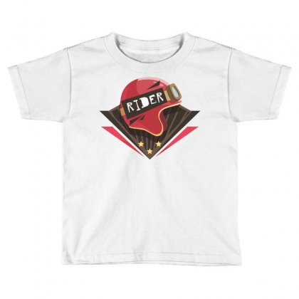 Rider Toddler T-shirt Designed By Estore