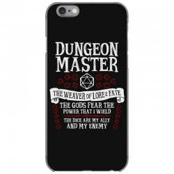 dungeon master, the weaver of lore & fate   dungeons & dragons iPhone 6/6s Case   Artistshot