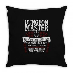 dungeon master, the weaver of lore & fate   dungeons & dragons Throw Pillow   Artistshot