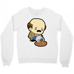 the office   kevin malone   chili Crewneck Sweatshirt | Artistshot