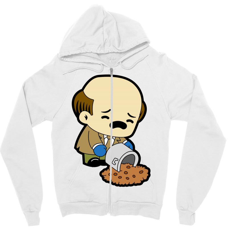 The Office   Kevin Malone   Chili Zipper Hoodie | Artistshot