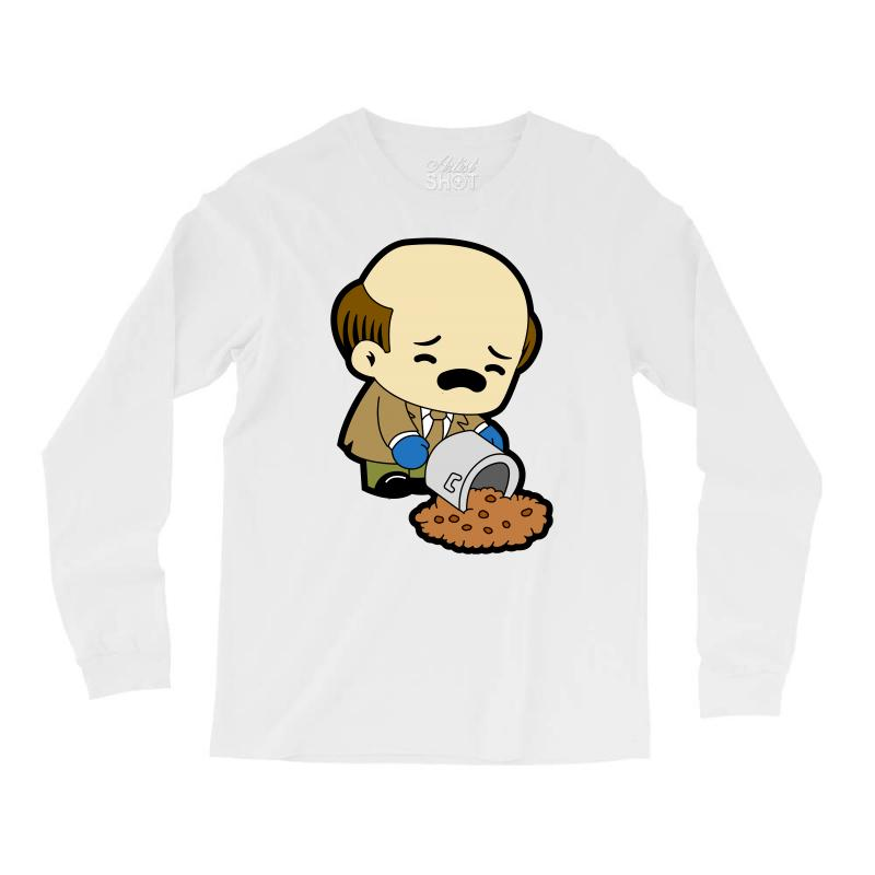 The Office   Kevin Malone   Chili Long Sleeve Shirts | Artistshot