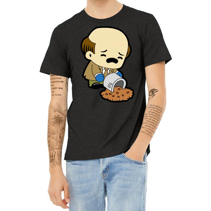 The Office   Kevin Malone   Chili Heather T-shirt | Artistshot