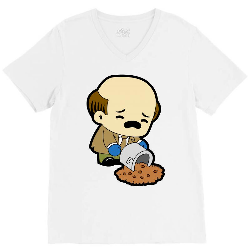 The Office   Kevin Malone   Chili V-neck Tee | Artistshot