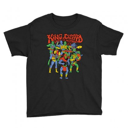 King And Gizzard And The Lizard Wizard Youth Tee Designed By Mostwanted