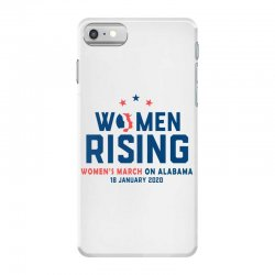 women's rising   women's march on alabama 2 iPhone 7 Case | Artistshot