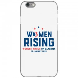 women's rising   women's march on alabama 2 iPhone 6/6s Case | Artistshot