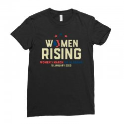 women's rising   women's march on alabama Ladies Fitted T-Shirt | Artistshot