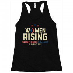 women's rising   women's march on alaska Racerback Tank | Artistshot