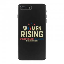 women's rising   women's march on alaska iPhone 7 Plus Case | Artistshot