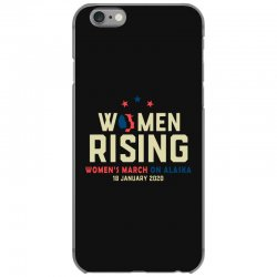 women's rising   women's march on alaska iPhone 6/6s Case | Artistshot