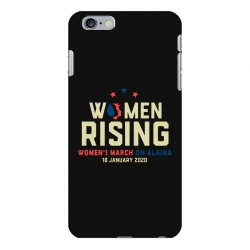 women's rising   women's march on alaska iPhone 6 Plus/6s Plus Case | Artistshot