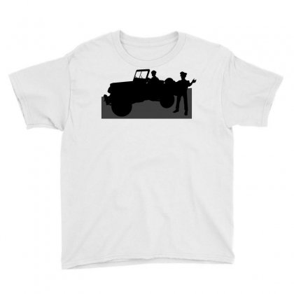 Jeeps And The Army Youth Tee Designed By Lebaoan