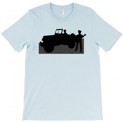 Jeeps And The Army T-shirt Designed By Lebaoan