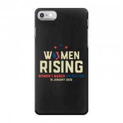 women's rising   women's march on boston iPhone 7 Case | Artistshot