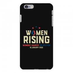 women's rising   women's march on boston iPhone 6 Plus/6s Plus Case | Artistshot