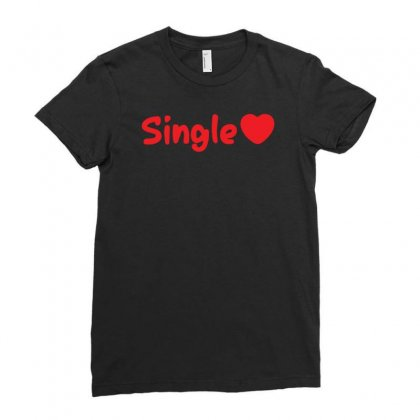 Single Ladies Fitted T-shirt Designed By Yusup