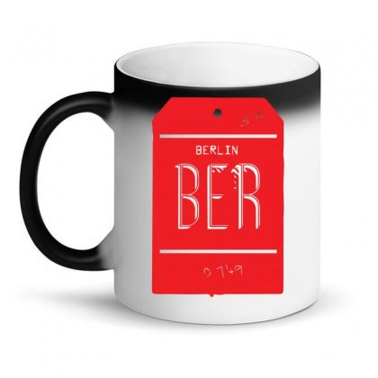 Berlin Luggage Tag Magic Mug Designed By Yusup