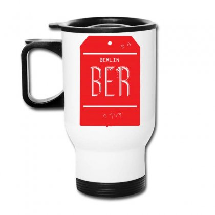 Berlin Luggage Tag Travel Mug Designed By Yusup