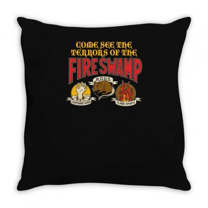 The Fire Swamp Throw Pillow Designed By Yusup