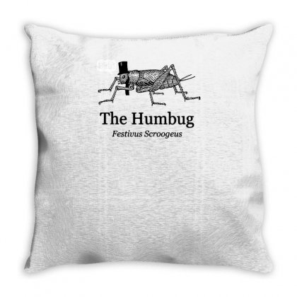 The Humbug Throw Pillow Designed By Yusup