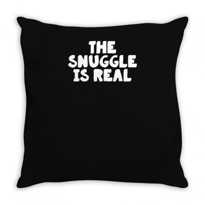 The Snuggle Throw Pillow Designed By Yusup