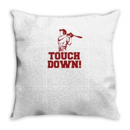 Touchdown Throw Pillow Designed By Yusup
