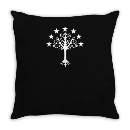 Tree Of Gondor Throw Pillow Designed By Yusup