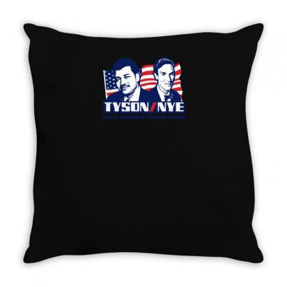 Tyson Nye 2016 2020 Throw Pillow Designed By Yusup