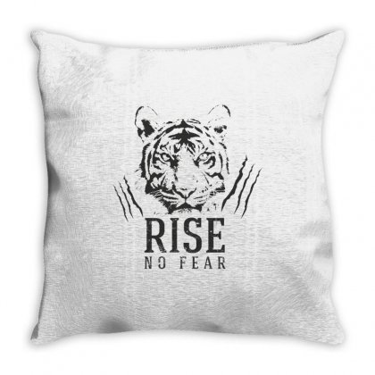 Rise No Fear Throw Pillow Designed By Estore