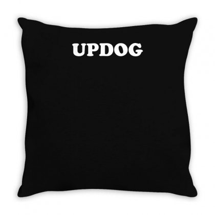 Updog Throw Pillow Designed By Yusup