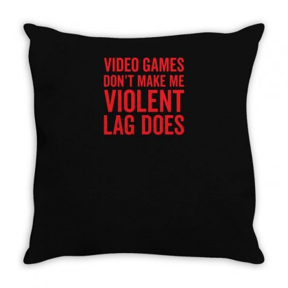 Video Games Throw Pillow Designed By Yusup