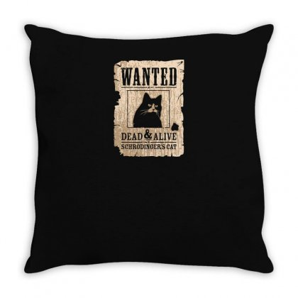 Wanted Dead And Alive Throw Pillow Designed By Yusup