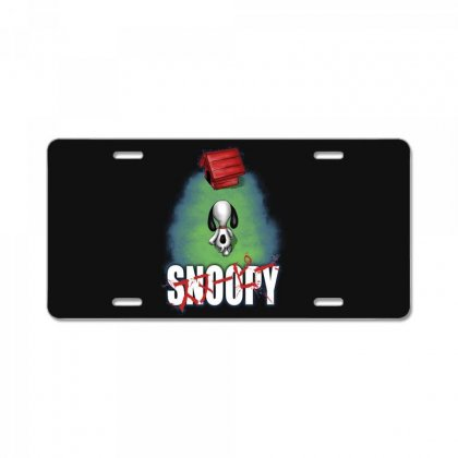 Snoopy License Plate