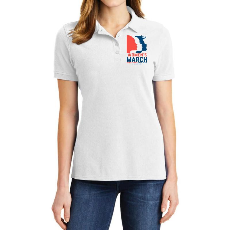 Women's March 2020 Las Vegas 2 Ladies Polo Shirt | Artistshot