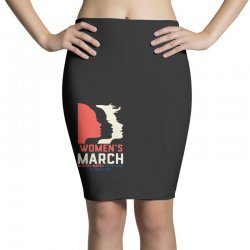 women's march 2020 indiana Pencil Skirts | Artistshot