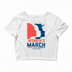 women's march 2020 georgia 2 Crop Top | Artistshot