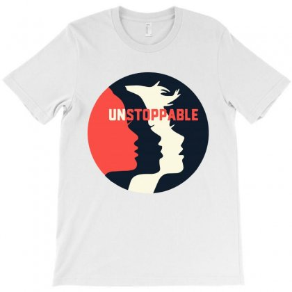 Unstoppable   Women's March T-shirt Designed By Creative Tees