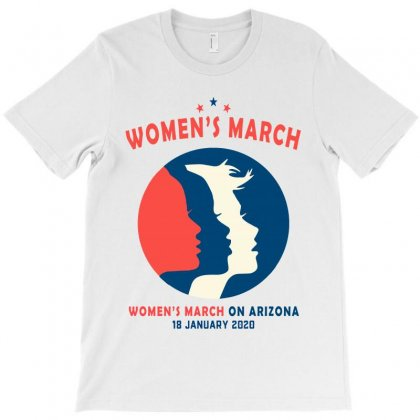 Women's March On Arizona T-shirt Designed By Creative Tees