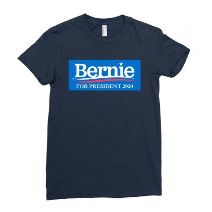 Bernie Sanders For President 2020 Ladies Fitted T-shirt Designed By Dejavu77