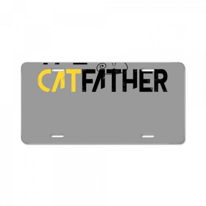 The Cat Father License Plate Designed By Gurkan