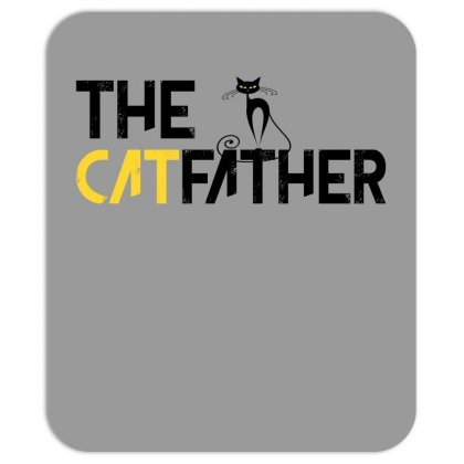 The Cat Father Mousepad Designed By Gurkan
