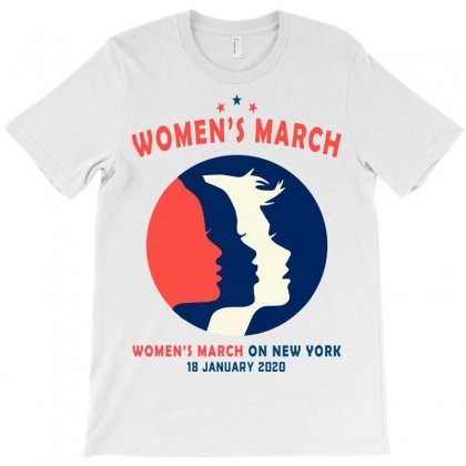 Women's March On New York T-shirt Designed By Creative Tees