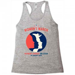 women's march on utah Racerback Tank | Artistshot