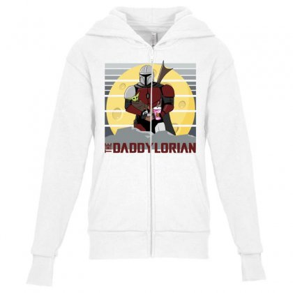 The Touch Youth Zipper Hoodie Designed By Cuser2397