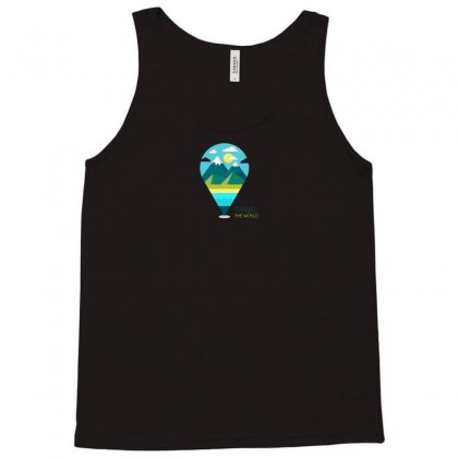 Travel Iii Tank Top Designed By Yusup
