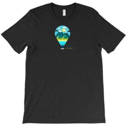 Travel Iii T-shirt Designed By Yusup