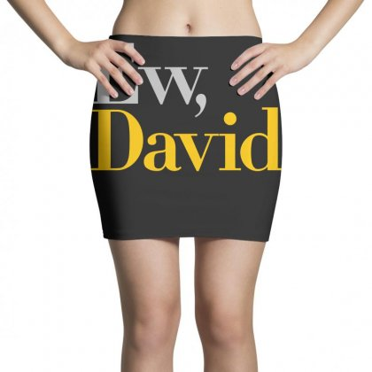 Ew David   Schitt's Creek Art Mini Skirts Designed By Animestars